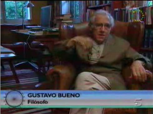 Gustavo Bueno en La Noria de Telecinco el 6 de septiembre de 2008