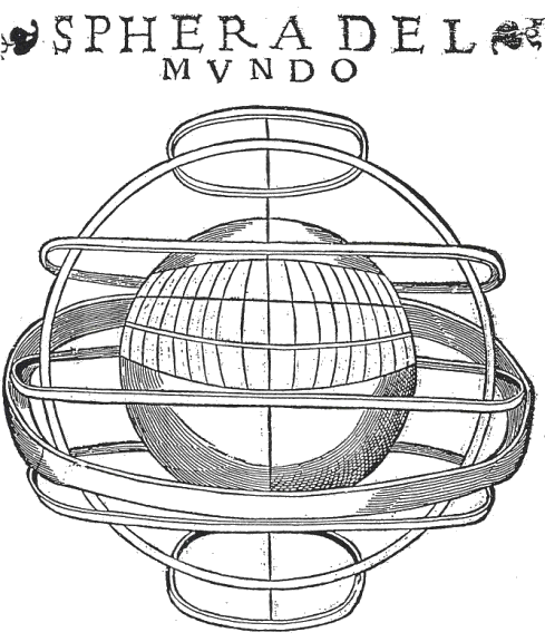 Sphera del Mundo, Sevilla 1545