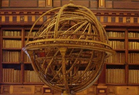 Esfera armilar, El Escorial