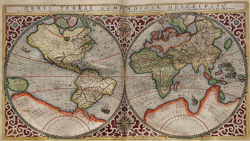 Mercator, Orbis Terrae compendiosa descriptio